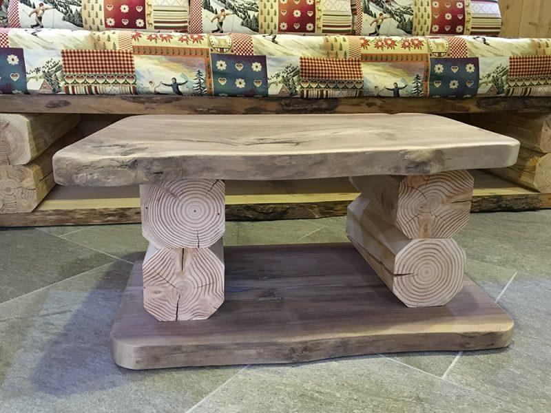 table-bois-apaprtement-2-alpes-location
